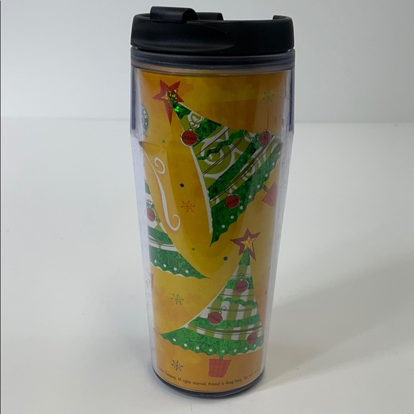 Starbucks holiday Tumbler 16 ounce 2002